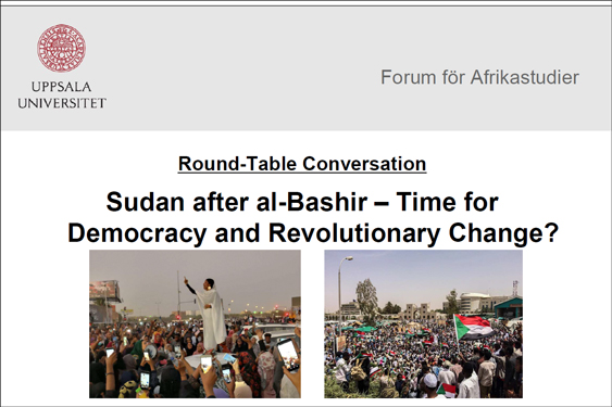 Round Table: Sudan after al-Bashir